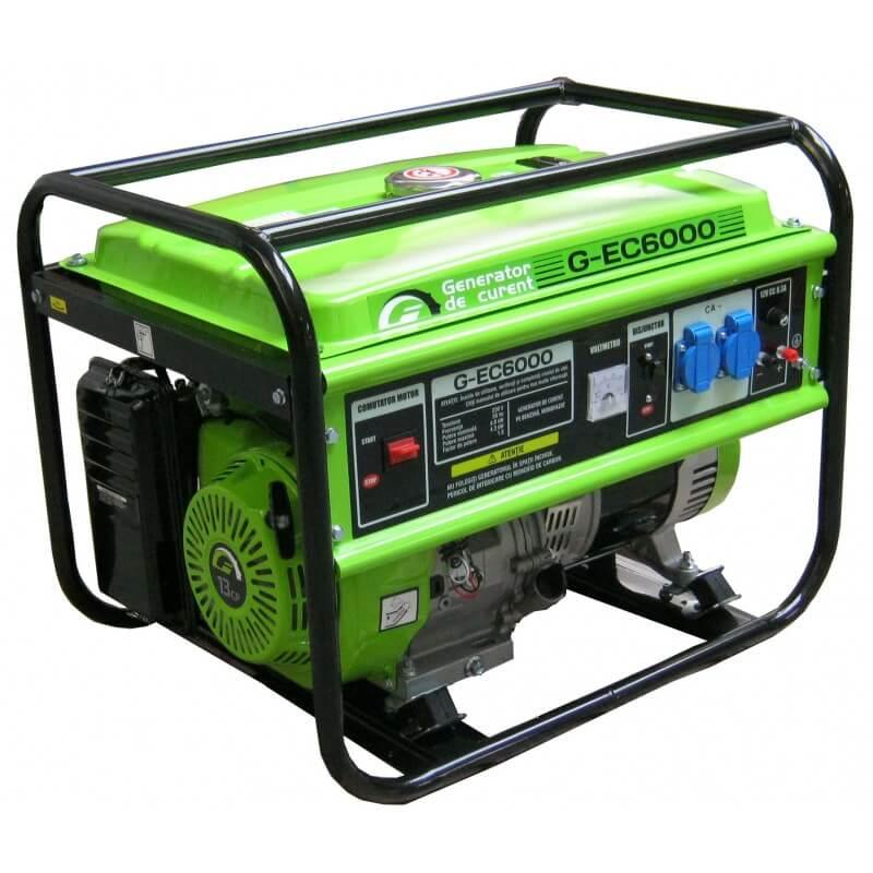 Generator Portabil De Curent Electric Monofazat Motor